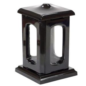 Подсвечник ритуальный №1 15х15х24см черный