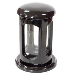 Подсвечник ритуальный №2 16.5х24.5 черный